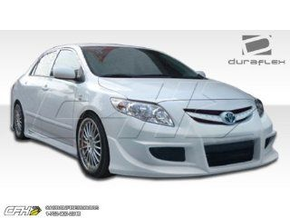 2009 2010 Toyota Corolla Duraflex Skylark Body Kit   4 Piece   Includes Skylark Front Bumper Cover (104498) Skylark Rear Bumper Cover (104499) Skylark Side Skirts Rocker Panels (104500) Automotive