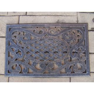 Oakland Living Mississippi Cast Aluminum Doormat   Outdoor Doormats