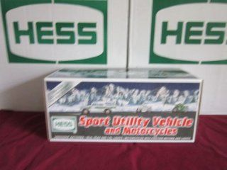 Hess Sport Utility Vehicle and Motorcycles (2004 Hess Toy Truck) Toys & Games