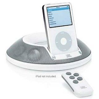 JBL   On Stage II   Speaker and Docking Station for iPod� (White)   Players & Accessories