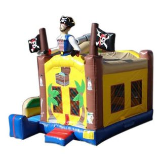 Kidwise Commercial Pirate Combo Bounce House   Commercial Inflatables