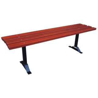 Commercial Grade Backless Bench   Outdoor Benches