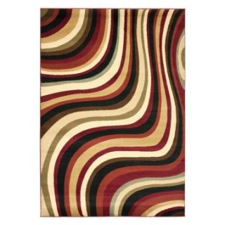 Safavieh Porcello PRL6855 4091 Area Rug   Red/Multi