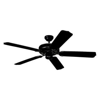 Monte Carlo 5WF52BK Weatherford 52 in. Indoor / Outdoor Ceiling Fan   Matte Black   ENERGY STAR   Ceiling Fans