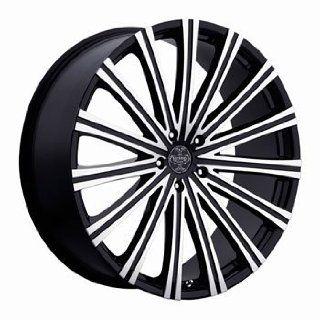 "20"" Wheels Rims Versante Ve230 Black Machined Face 5x114.3 5x120 5x135 5x139.7 Automotive"