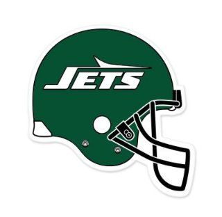 "New York Jets NFL car bumper sticker decal (5"" x 5"")  Sports Fan Bumper Stickers  Sports & Outdoors"