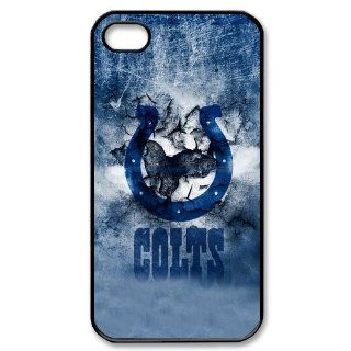 Unique Design 2013 New Style NFL Indianapolis Colts Team Logo iPhone 4 4S Case at diystore Cell Phones & Accessories