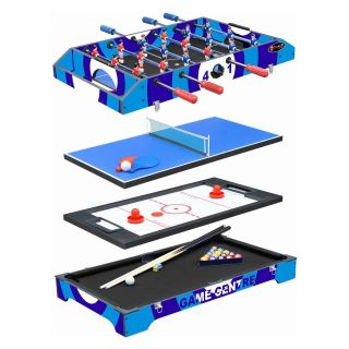 Playcraft 36 in. Sport 4 in 1 Multi Game Table   Foosball Tables