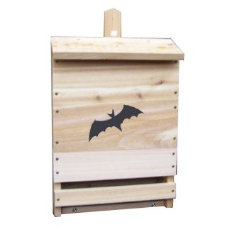 Stovall Wood Single Cell Bat House   Bird Houses