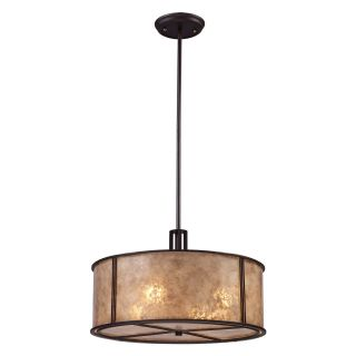 Elk Lighting Barringer Pendant Light   Aged Bronze   Lighting