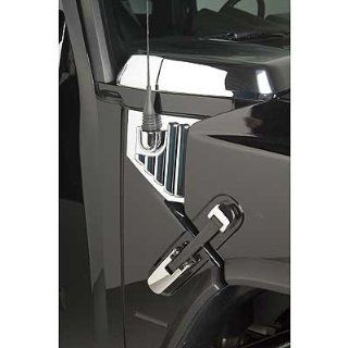 Putco Hummer H2 Chrome Hood Side Vents w/Antenna Mount Automotive