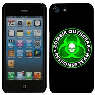 Apple iPhone 5 Zombie Outbreak Response Team Green Phone Case Cover Cell Phones & Accessories