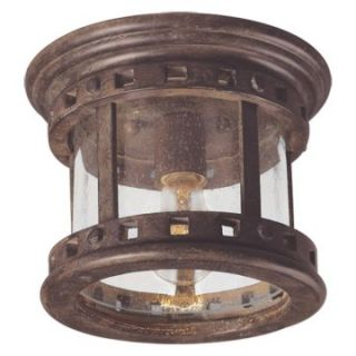 Maxim Santa Barbara DC Outdoor Ceiling Light   7H in. Sienna   Outdoor Ceiling Lights