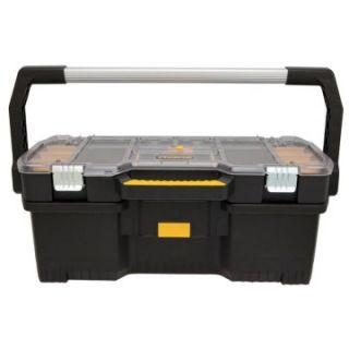 Stanley Hand Tools 24 in. Tote With Removable Organizer   Tool Boxes