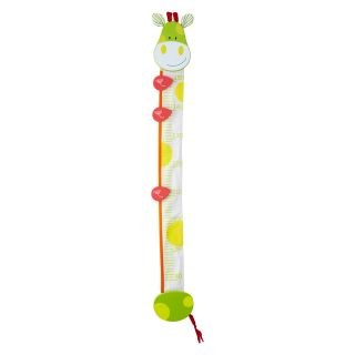 Wonderworld Giraffe Height Measurement Growth Chart   5W x 41H in.   Decor