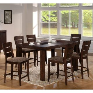 Emerald Home Canyon Park 7 piece Counter Height Table Set   Dining Table Sets