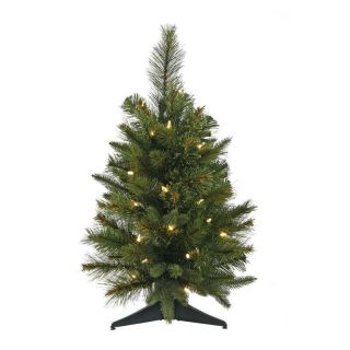 Cashmere Pine Pre lit LED Tabletop Christmas Tree   Christmas Trees