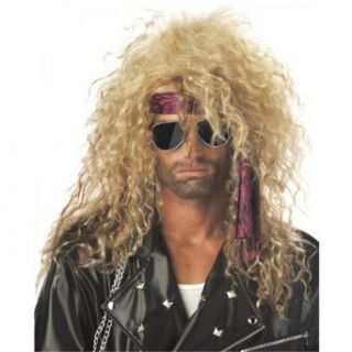 Heavy Metal Rocker Wig (Standard) Clothing