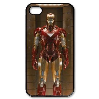 Custom The Avengers Iron Man Cover Case for iPhone 4 4s LS4 829 Cell Phones & Accessories