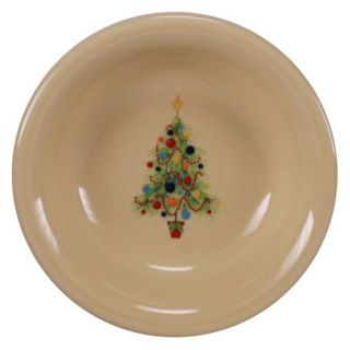 Fiesta Christmas Tree Fruit Bowl 6.25 oz.   Set of 4   Soup & Pasta Bowls