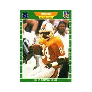 1989 Pro Set #417 Bruce Hill RC Sports Collectibles