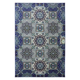 American Rug Craftsmen Panoramic Mosaic Fountain Indoor   Outdoor Rug   Area Rugs