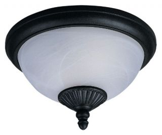Sea Gull Yorktown Ceiling Light   7.5H in. Forged Iron   Outdoor Ceiling Lights