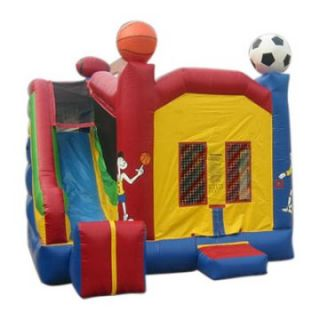 Kidwise Commercial Sports Combo Bounce House   Commercial Inflatables