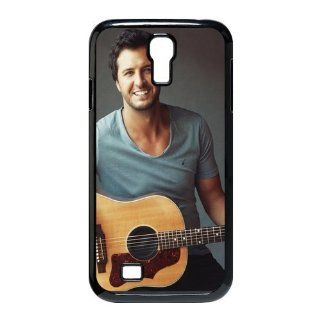 Custom Luke Bryan Cover Case for Samsung Galaxy S4 I9500 S4 2185 Cell Phones & Accessories