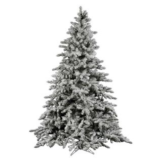 Vickerman 14 ft. Flocked Utica Fir Christmas Tree   Christmas Trees