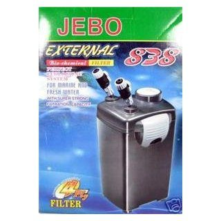 Jebo Aquarium Fish Tank Bio chemical Filter 838 4 Ply