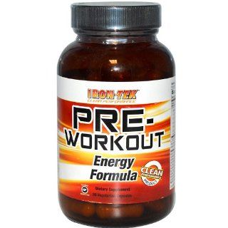 Iron Tek Pre workout Formula, 90 Count Capsules Health & Personal Care