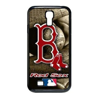 Treasure Design MLB Boston Red Sox Samsung Galaxy S4 9500 Best Durable Case Cell Phones & Accessories