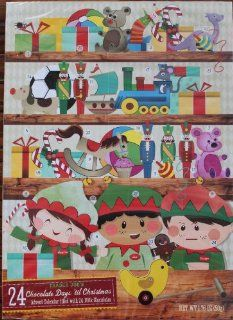 Trader Joe's Advent Calendar. 24 Chocolate Days 'Till Christmas. Toy Edition Grocery & Gourmet Food