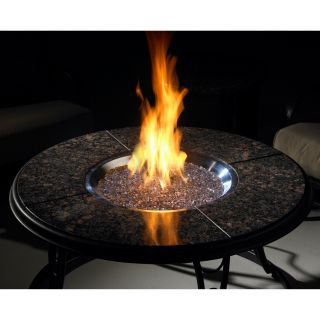 Outdoor GreatRoom Granite Gas Fire Pit Table   Fire Pits