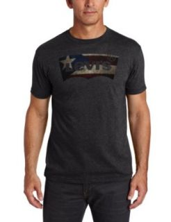 Levi's Men's Grosevelt T Shirt, Charcoal Heather, X Large at  Men�s Clothing store Fashion T Shirts