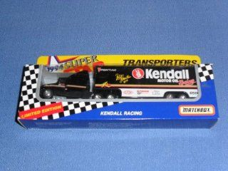 1994 NASCAR Matchbox Superstars . . . Bobby Hamilton #40 Kendall Motor Oil Racing . . . 1/87 Scale Transporter Diecast . . . Series II . . . Limited Edition