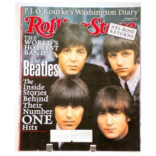 Rolling Stone Magazine # 863 March 1 2001 Beatles (Single Back Issue) Rolling Stone Books