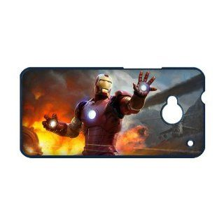 Iron Man HTC ONE M7 Case Great Hero HTC ONE M7 Case Cell Phones & Accessories