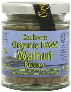 Organic Raw Walnut Butter 170g  Honey  Grocery & Gourmet Food