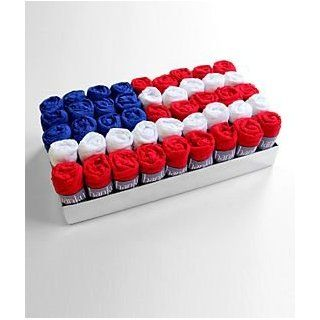 Hanky Panky Original Rise Thong 45 Pack Flag Gift Box Set, One Size, American Flag Underwear