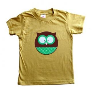 Organic Forest Owl Animal Toddler Tee (Made in USA) Infant And Toddler T Shirts Clothing