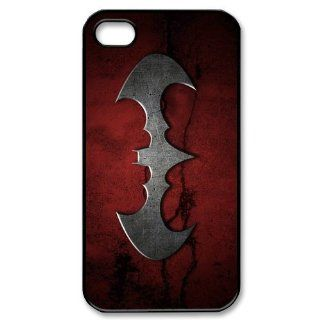 Custom Batman Logo Cover Case for iPhone 4 4s LS4 902 Cell Phones & Accessories