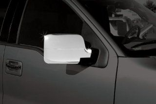2004 2008 Ford F 150 Chrome Mirror Covers (DOES NOT WORK WITH TURN SIGNALS) Automotive