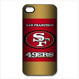 key Custombox NFL San Francisco 49ers Team Logo Best Durable Silicone Case Cover for iphone 4 4S Electronics