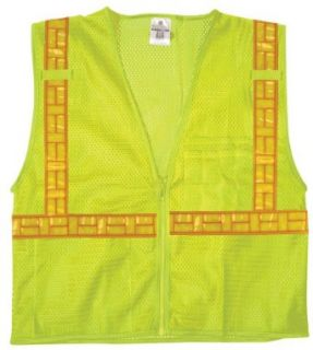 ML Kishigo 1076 1077 Ultra CoolTM Class 2 Mesh Safety Vest with Omni Brite