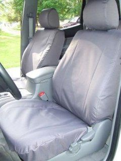Exact Seat Covers, TC4 T914/T917 C8, 2005 2008 Toyota Tacoma SR5 Double Cab Exact Seat Covers Front and Back Seats, Gray Waterproof Endura Automotive