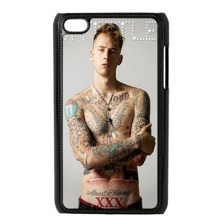 Mystic Zone Cool Hip hop Singer Machine Gun Kelly Snap On Case for iPod Touch 4/4G/4th Generation Cover Carrying Cases P4KW00189   Players & Accessories
