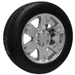 20 inch Chrome Rims CK919 Tires fits 2011 2012 2013 2014 Escalade Automotive