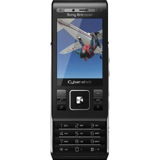 Sony Ericsson C905a Unlocked Phone with 8MP Camera, GPS and Wi Fi   Unlocked Phone   No Warranty   Black Cell Phones & Accessories